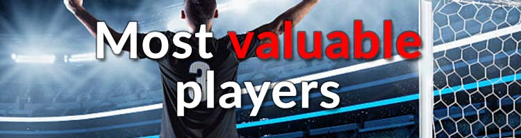 Most valuable players in football
