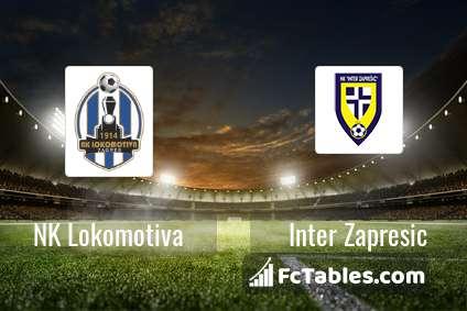 Nk Lokomotiva Vs Inter Zapresic H2h 4 Jul 2020 Head To Head Stats Prediction