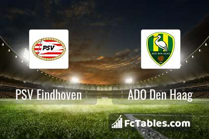 PSV Eindhoven ADO Den Haag H2H