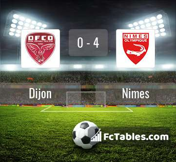 Preview image Dijon - Nimes
