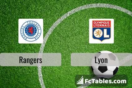 Preview image Rangers - Lyon