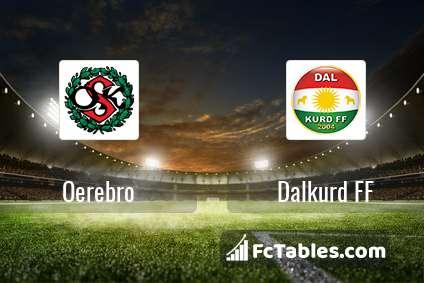 Preview image Oerebro - Dalkurd FF