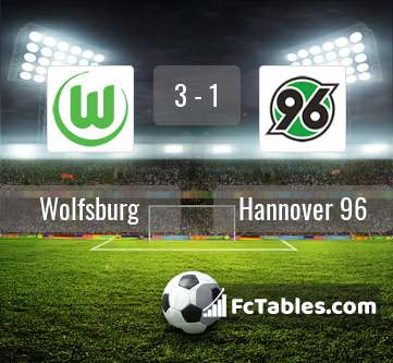 Preview image Wolfsburg - Hannover 96