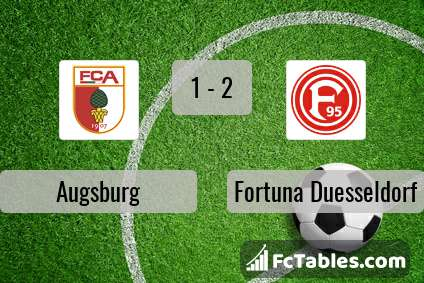 Preview image Augsburg - Fortuna Duesseldorf