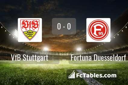 Preview image VfB Stuttgart - Fortuna Duesseldorf