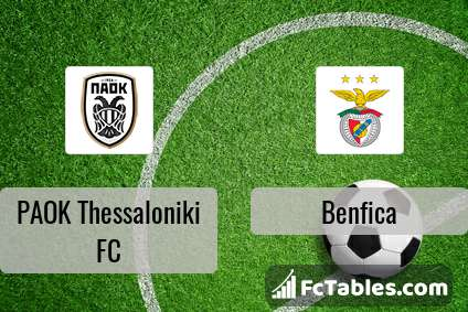 Preview image PAOK Thessaloniki FC - Benfica
