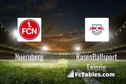 Podgląd zdjęcia Nuernberg - RasenBallsport Leipzig