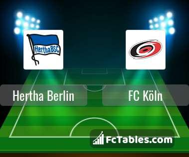 Preview image Hertha Berlin - FC Köln