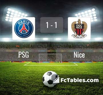 Preview image PSG - Nice