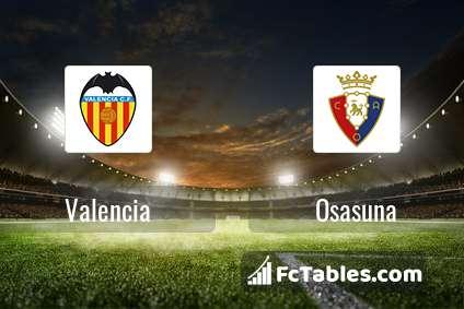 Preview image Valencia - Osasuna