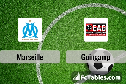Preview image Marseille - Guingamp