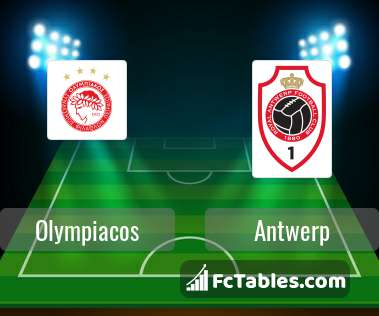 Preview image Olympiacos - Antwerp