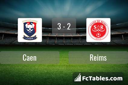 Preview image Caen - Reims