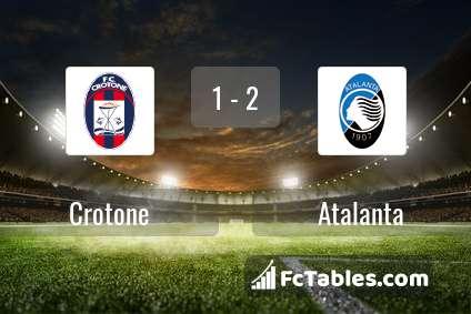 Preview image Crotone - Atalanta