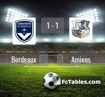 Preview image Bordeaux - Amiens