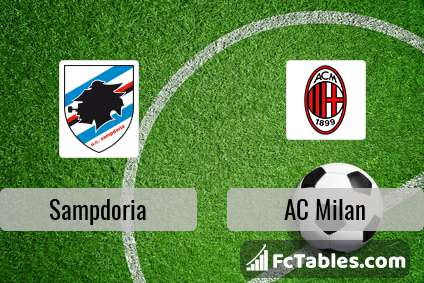 Preview image Sampdoria - AC Milan