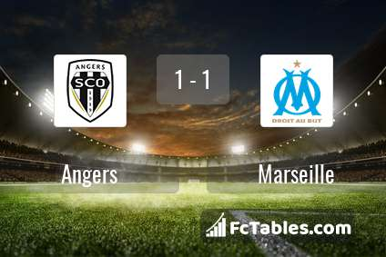 Preview image Angers - Marseille