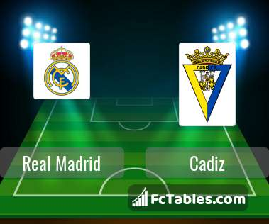Preview image Real Madrid - Cadiz