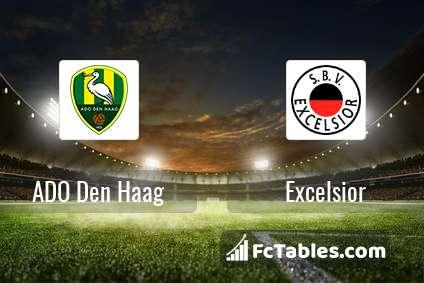 ADO Den Haag Excelsior H2H
