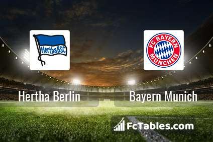 Preview image Hertha Berlin - Bayern Munich