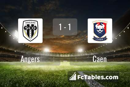 Preview image Angers - Caen