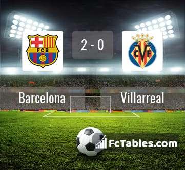 Barcelona villarreal livescores result la liga 2 dec 2018 - Villarreal fc league table ...