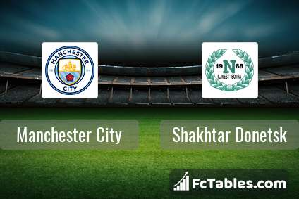 Preview image Manchester City - Shakhtar Donetsk