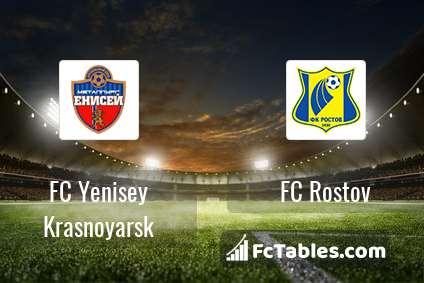 Preview image FC Yenisey Krasnoyarsk - FC Rostov