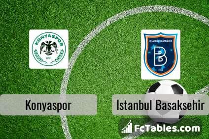 Preview image Konyaspor - Istanbul Basaksehir
