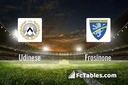 Preview image Udinese - Frosinone