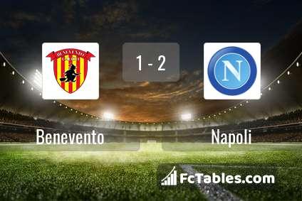 Preview image Benevento - Napoli
