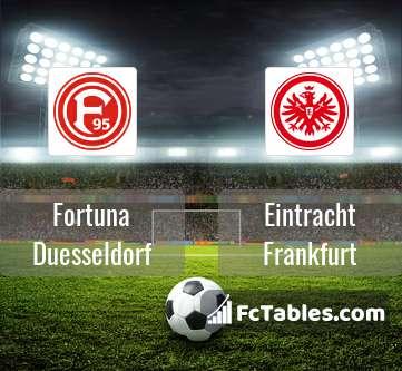 Podgląd zdjęcia Fortuna Duesseldorf - Eintracht Frankfurt