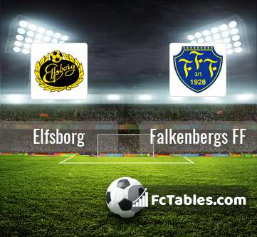 We invite you to check Elfsborg and Falkenbergs FF match statistict (Tab  Stats- Match statistics) f06d21872e161