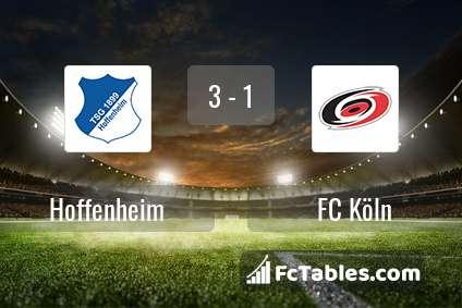 Preview image Hoffenheim - FC Köln