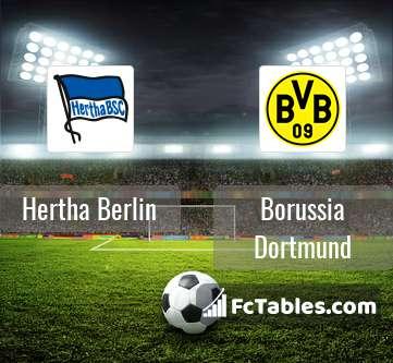 Preview image Hertha Berlin - Borussia Dortmund