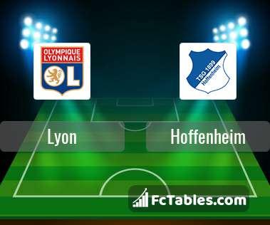 Preview image Lyon - Hoffenheim