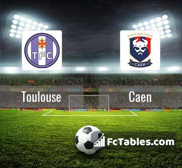 Preview image Toulouse - Caen
