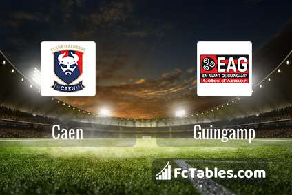 Preview image Caen - Guingamp