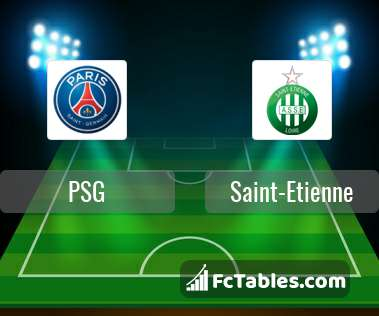 Preview image PSG - Saint-Etienne