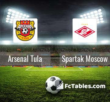 Preview image Arsenal Tula - Spartak Moscow