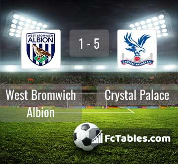 Preview image West Bromwich Albion - Crystal Palace