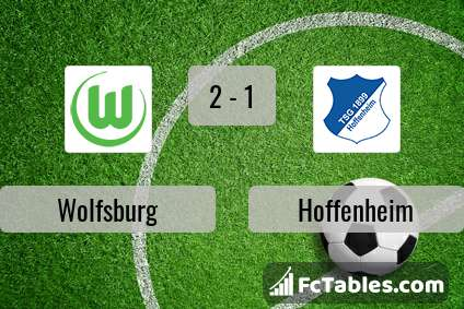 Podgląd zdjęcia VfL Wolfsburg - Hoffenheim