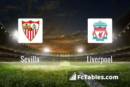 Sevilla Vs Liverpool H2h 21 Jul 2019 Head To Head Stats Prediction