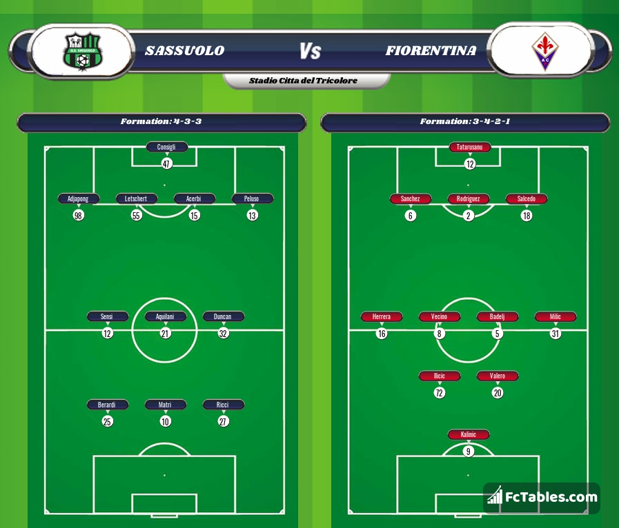 Preview image Sassuolo - Fiorentina