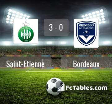 Preview image Saint-Etienne - Bordeaux