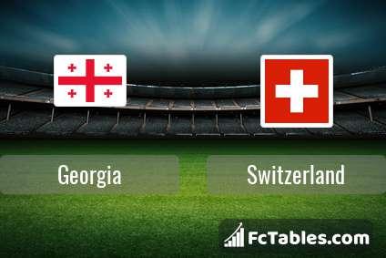 Georgia Switzerland H2H