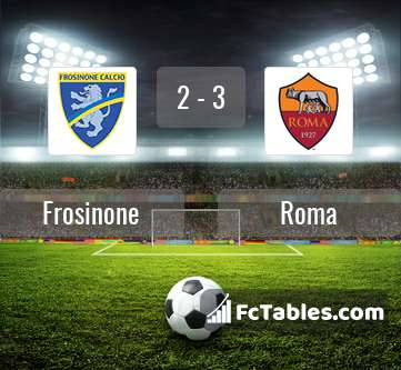 Preview image Frosinone - Roma