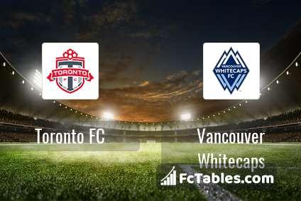 Preview image Toronto FC - Vancouver Whitecaps
