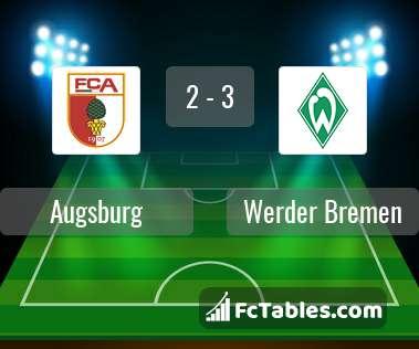 Preview image Augsburg - Werder Bremen