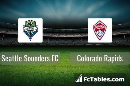 Preview image Seattle Sounders FC - Colorado Rapids